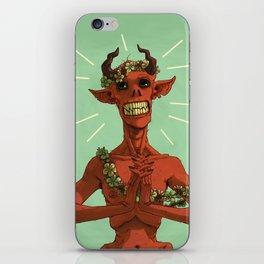 Spring Demon iPhone Skin
