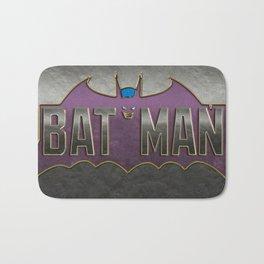 Old School Bat Bath Mat