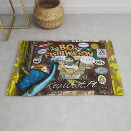 B.O's Fish Wagon Rug