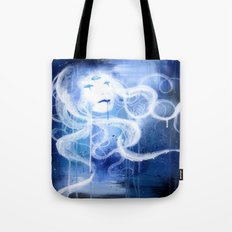 Three Eyed Goddess Tote Bag