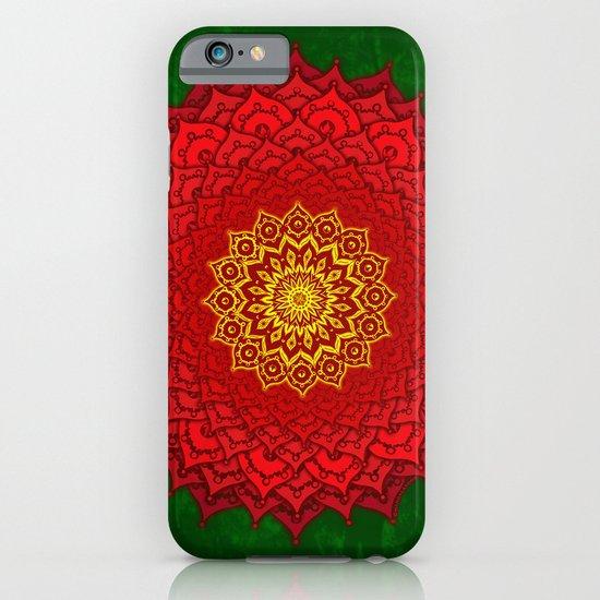 okshirahm rose mandala iPhone & iPod Case