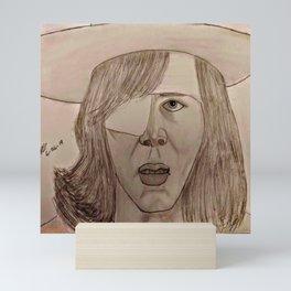 Carl by Double R Mini Art Print