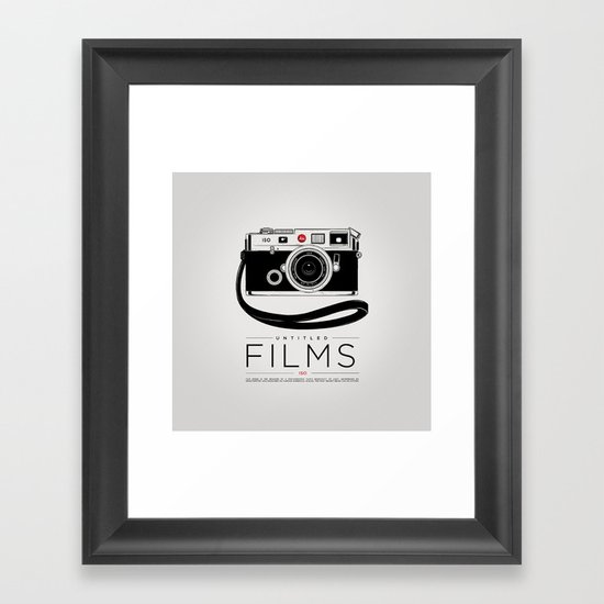 PRINT Nº025 Framed Art Print