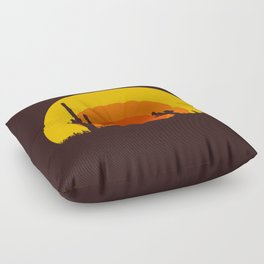 mucho calor Floor Pillow