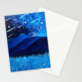 Starfall Stationery Cards
