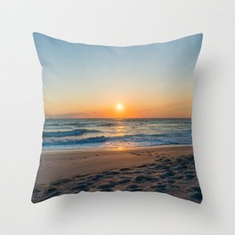 Canaveral Sunrise Throw Pillow