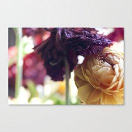 Purple Tops Canvas Print