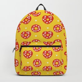Sweet Heart Love Cake Donut Party Backpack