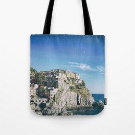 Manarola, Cinque Terre in Italy Tote Bag