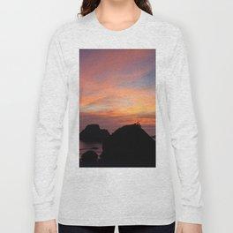 Surfers' Sunset Long Sleeve T-shirt