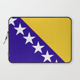 Bosnia and Herzegovina flag emblem Laptop Sleeve