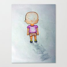 Tipito solapa Canvas Print