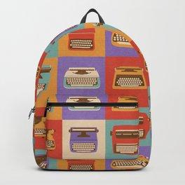Retro Typewriters Backpack