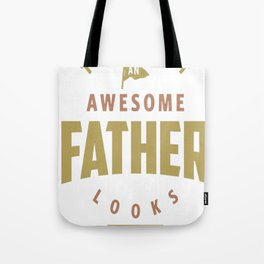 Awesome Father Tote Bag