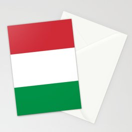 National Flag of Italy, High Quality Image Stationery Cards