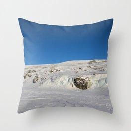 Frozen ski Throw Pillow