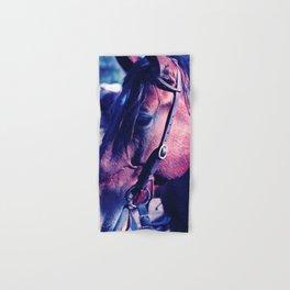 Horse-1-Blues Hand & Bath Towel