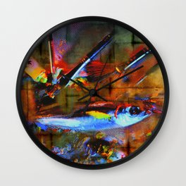 artfish Wall Clock