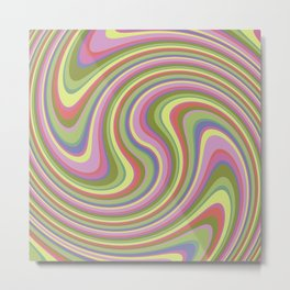 Twist and Shout-Fairytale colorway Metal Print
