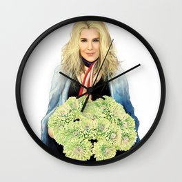 Another misty day Wall Clock