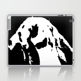 Black & White English Lop Laptop & iPad Skin