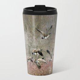Flying Geese Travel Mug