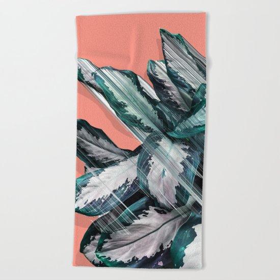 Skyward Plant Beach Towel