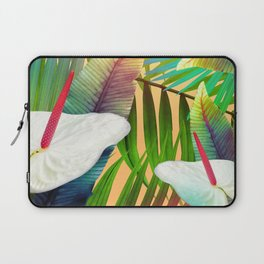 Island Flowers Laptop Sleeve