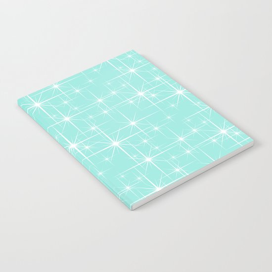 Glitter Tiffany Blue Notebook