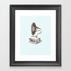 samples & bass Framed Art Print