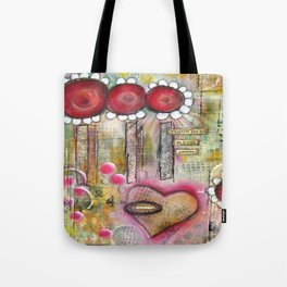 Mixed Media Collage 2 Tote Bag