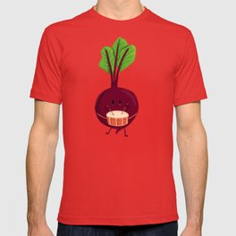 Beet's drum beat T-shirt