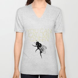 Queen Bee Unisex V-Neck