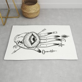 Hand of Mysteries Rug