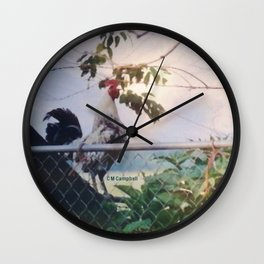 """ Wake Up Call "" Wall Clock"