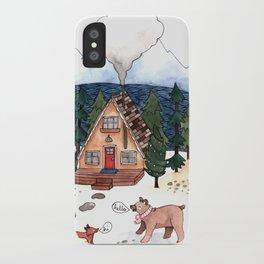 A-Frame Cabin iPhone Case