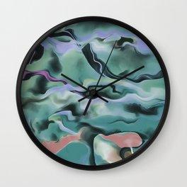Waves In Harmony Wall Clock