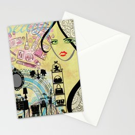 Beauty Addict Stationery Cards