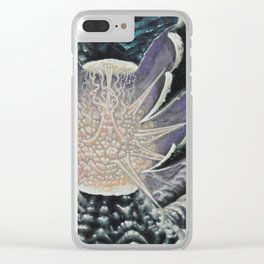 """""""Animate"""" by Adam France Clear iPhone Case"""