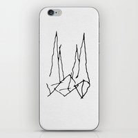 starfox iPhone & iPod Skins featuring The Ship by Tobias Bowman