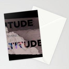 Attitude Determines Altitude Stationery Cards