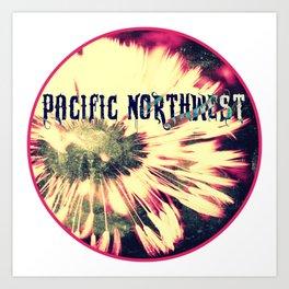 Pacific Northwest Dandelion Art Print