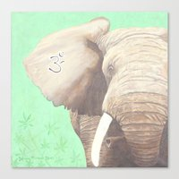 om Canvas Prints featuring OM... by Ninamelusina