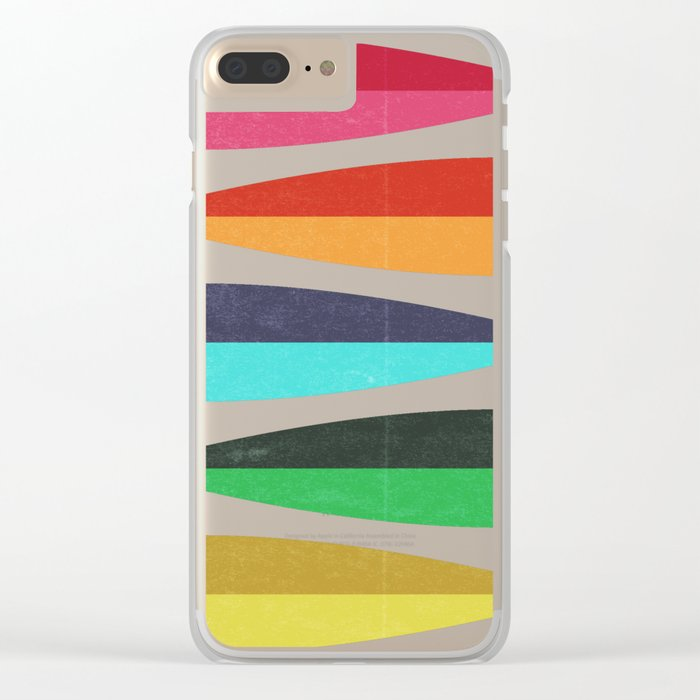 Feathers Clear iPhone Case