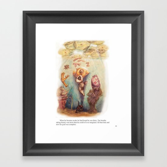 Page 80 Framed Art Print