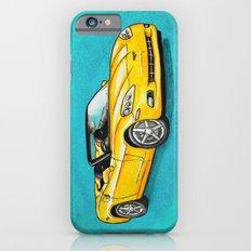 Yellow Corvette iPhone 6s Slim Case