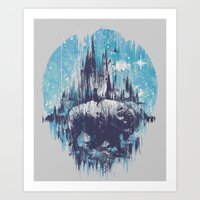 wanderlust Art Prints featuring Wanderlust by Robson Borges