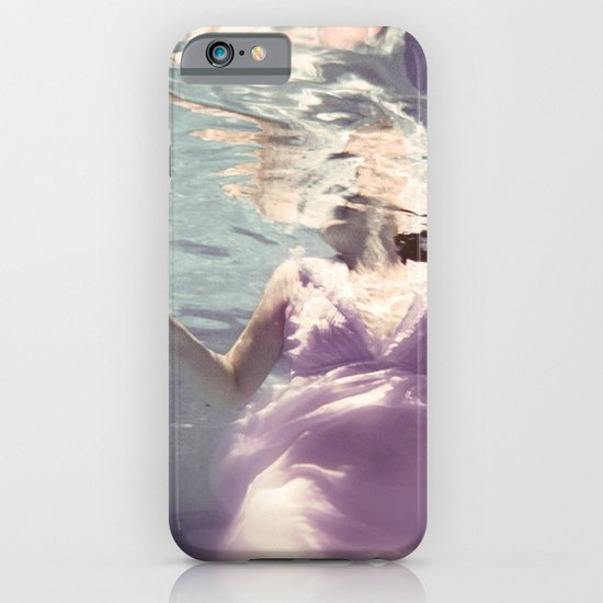 Dive in Violet iPhone & iPod Case