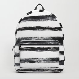 Grungy stripes Backpack