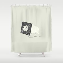 Not Amused Shower Curtain